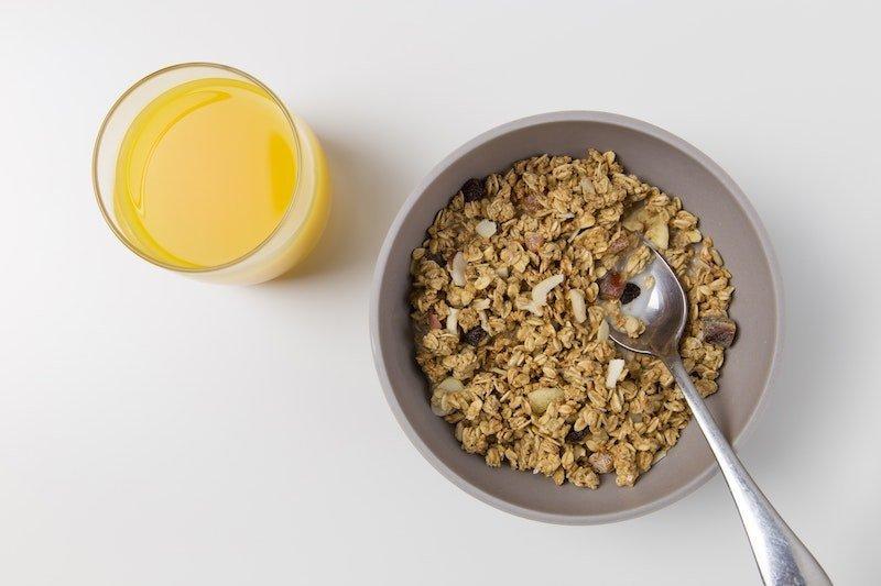 Oat Meal. Healthy Snacks