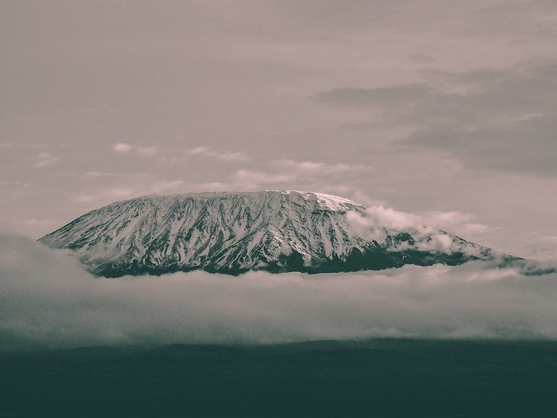 Mountain in East Africa