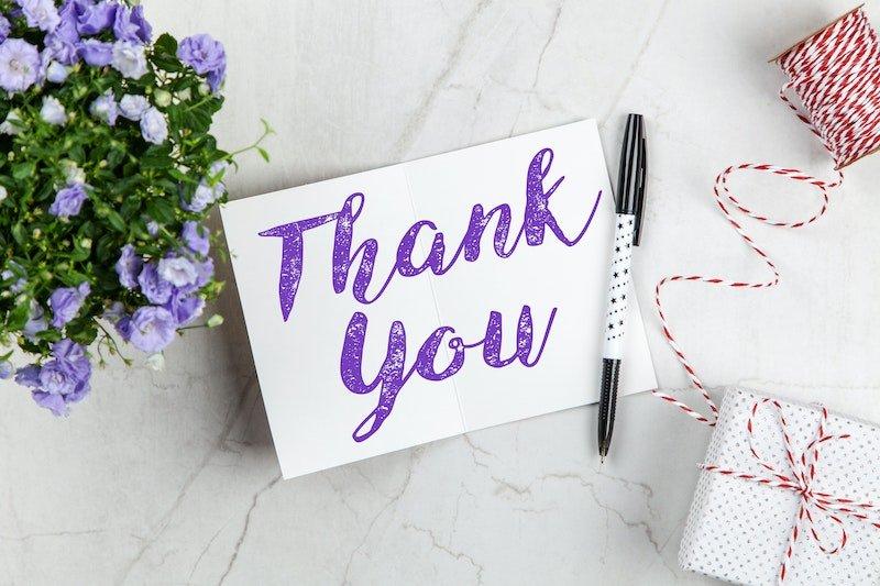 Gratitude relieves stress