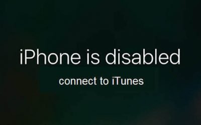 How To Fix iPhone is disabled. Connect to iTunes